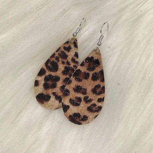 Banana Leopard Earrings