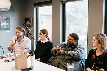 Cleveland Drafts 2018 panel. Photo by Hilary Bovay.