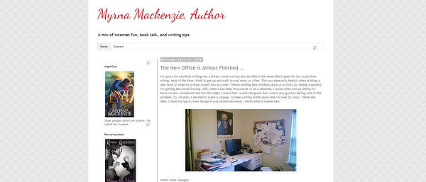 Myrna Mackenzie, Author Blog
