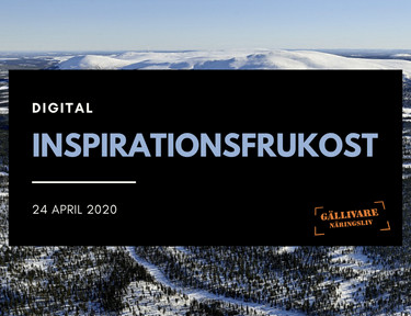 Inspirationsfrukost 24 april 2020