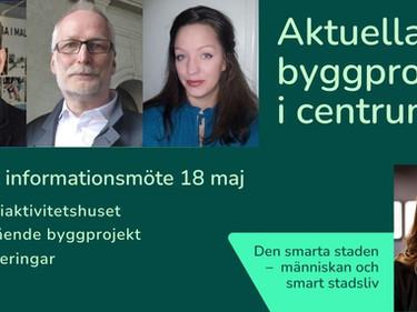 Informationsmöte om aktuella byggprojekt i Gällivare centrum