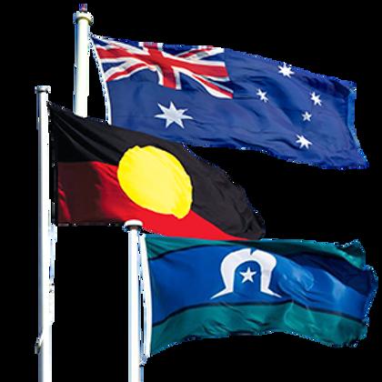 Indigenous Engineering Aboriginal Torres Strait Island Flag