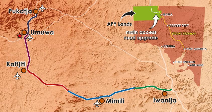 APY Lands Roads