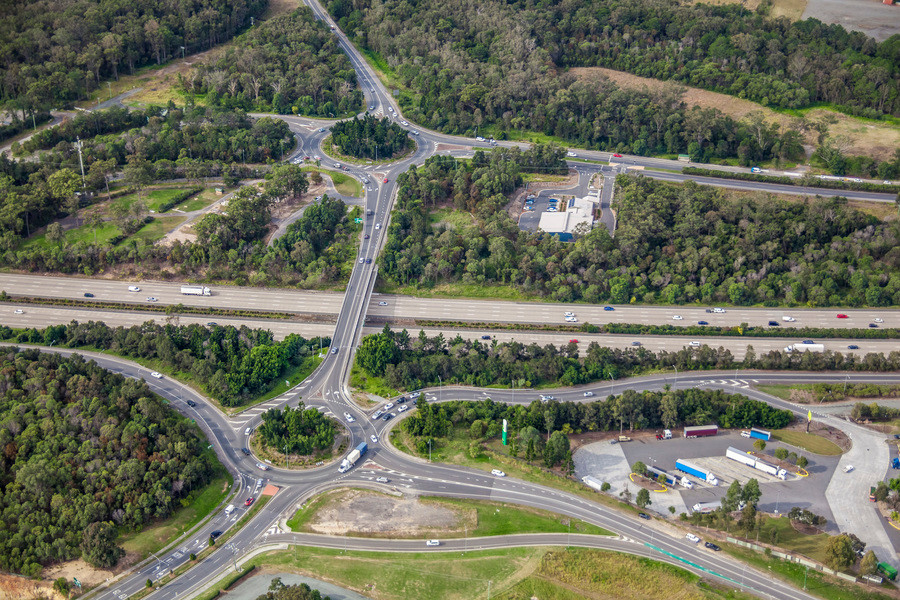 Coomera Interchange - Exit 54