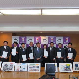 福山市と災害時応援協定を締結しました。