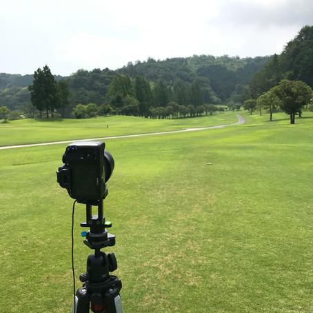 高知県のゴルフ場に撮影に行ってきました。
