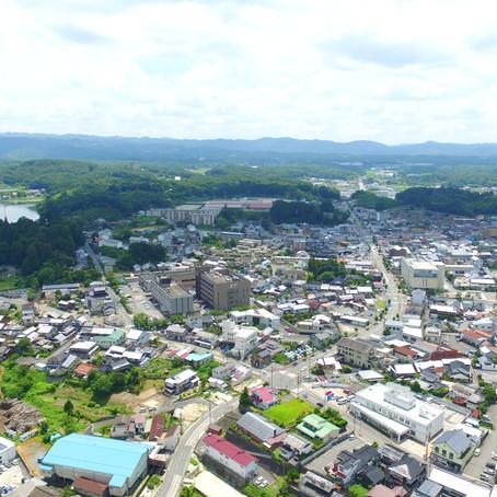 庄原市へ空撮に行きました。