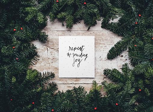 Repeat the Sounding Joy Print