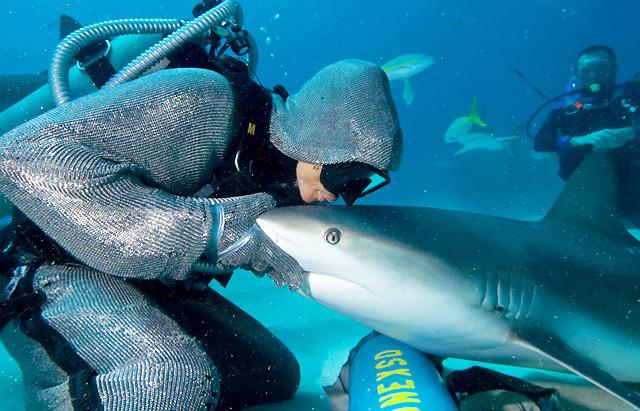 Dompteuse de requins