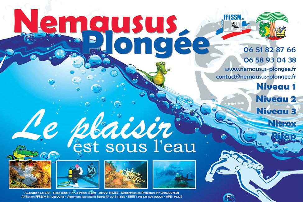 Nemausus plongée - Ecole de plongée - Nîmes
