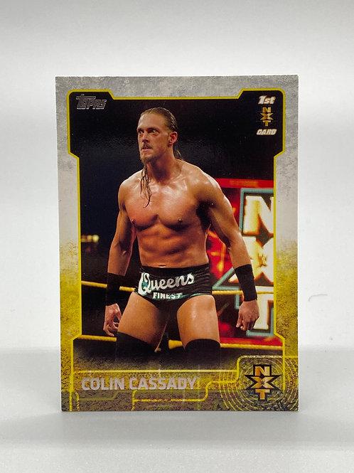 WWE Topps 2015 NXT Colin Cassady #5