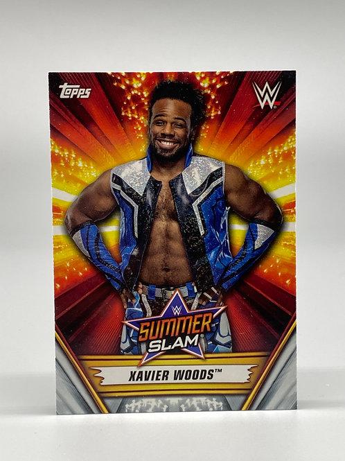 2019 Topps WWE Summerslam Xavier Woods #42