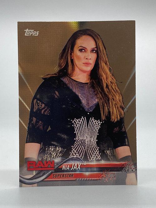 WWE Topps 2018 Raw Nia Jax #68 NM Wrestling Trading Card