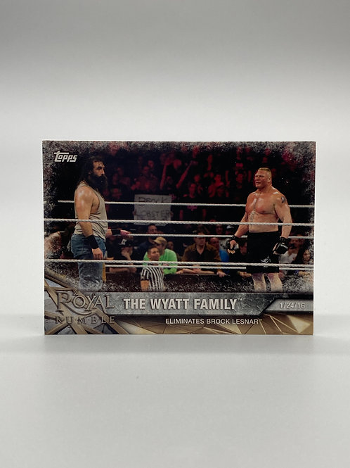 WWE Topps 2017 Road to Wrestlemania The Wyatt Family #13