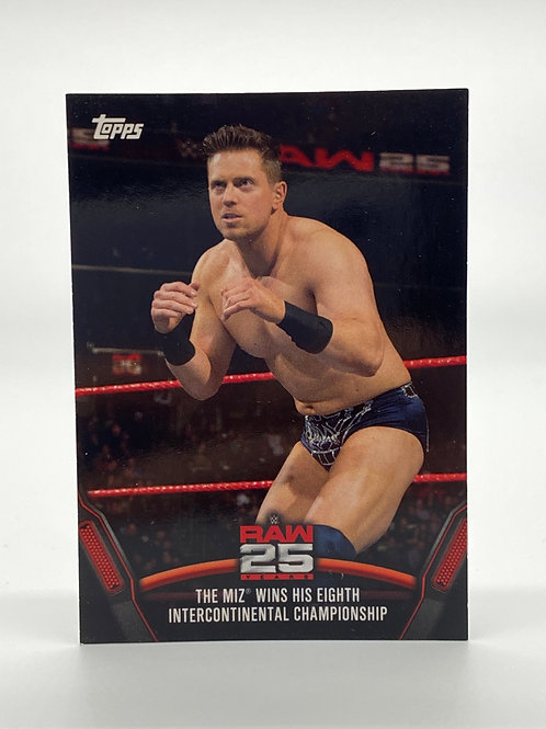 WWE Topps 2018 Then Now Forever The Miz #RAW-49