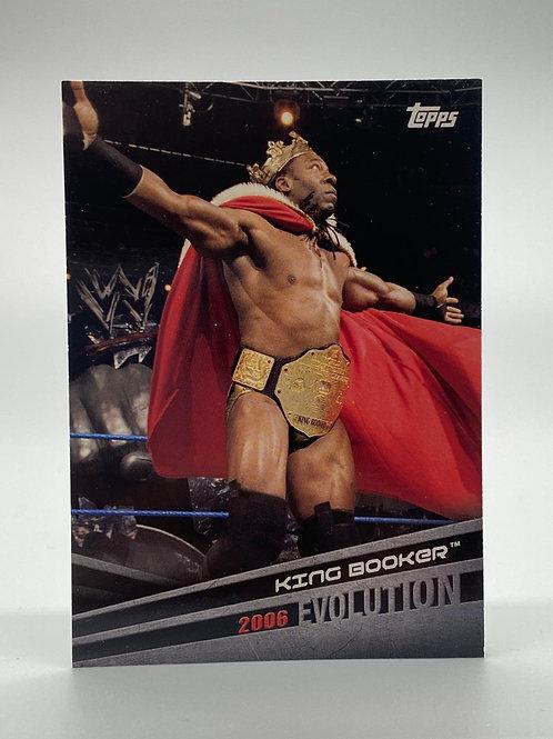 WWE Topps 2018 Evolution King Booker #E-6