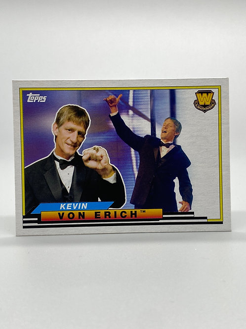 WWE Topps 2018 Heritage Big Legends Kevin Von Erich #BL-28 NM