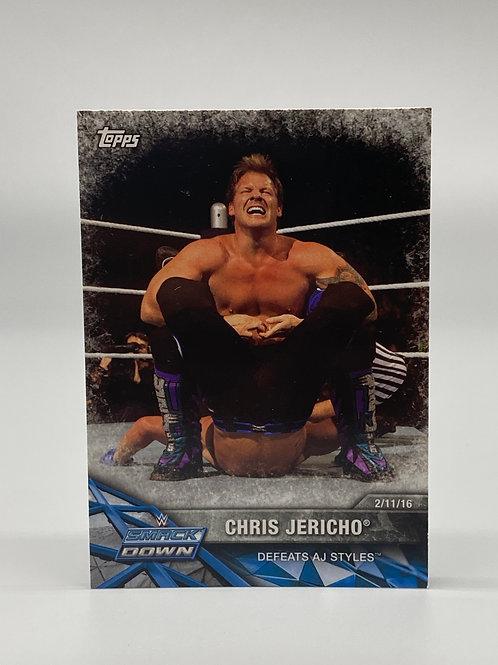 2017 Topps WWE Road to Wrestlemania Chris Jericho #22
