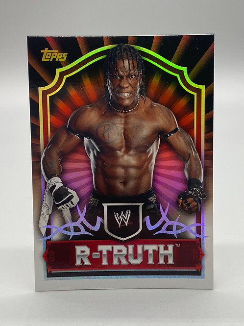 WWE Topps 2011 Classic R-Truth #53 NM
