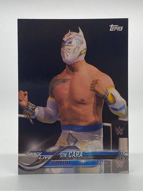 WWE Topps 2018 Smackdown Sin Cara #84 NM Wrestling Trading Card
