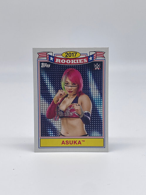 2018 Topps WWE Heritage 2017 Rookies Asuka #TR-1