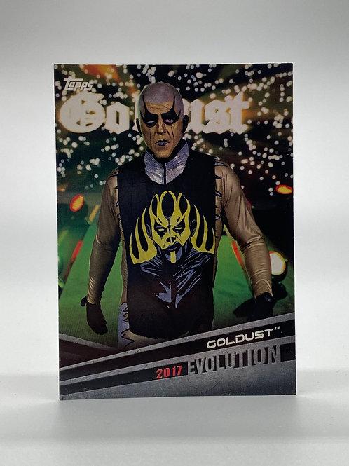 WWE Topps 2018 Evolution Goldust #E-20