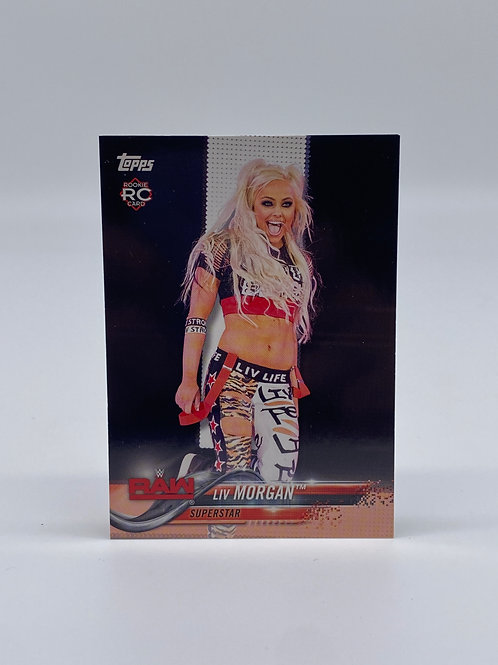 2018 Topps Then Now Forever Liv Morgan #147