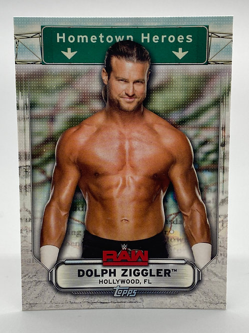 WWE Topps 2019 Hometown Heroes Dolph Ziggler #HH-13 NM Wrestling Trading Card