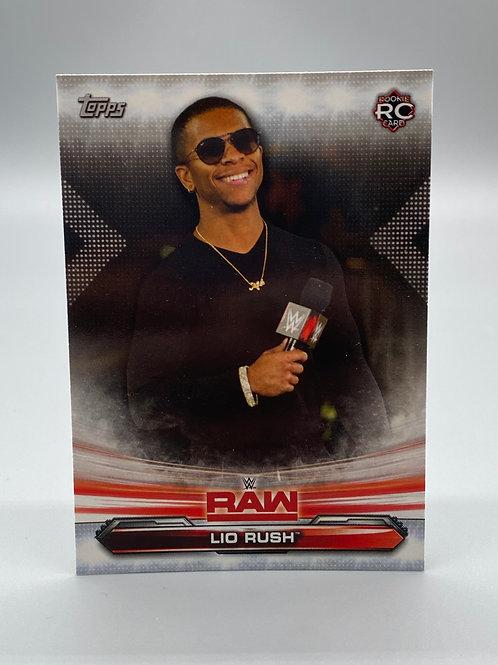 WWE Topps 2019 Raw Lio Rush #46 NM Wrestling Trading Card