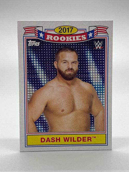 WWE Topps 2018 Heritage Top 10 Rookies Dash Wilder #TR-7