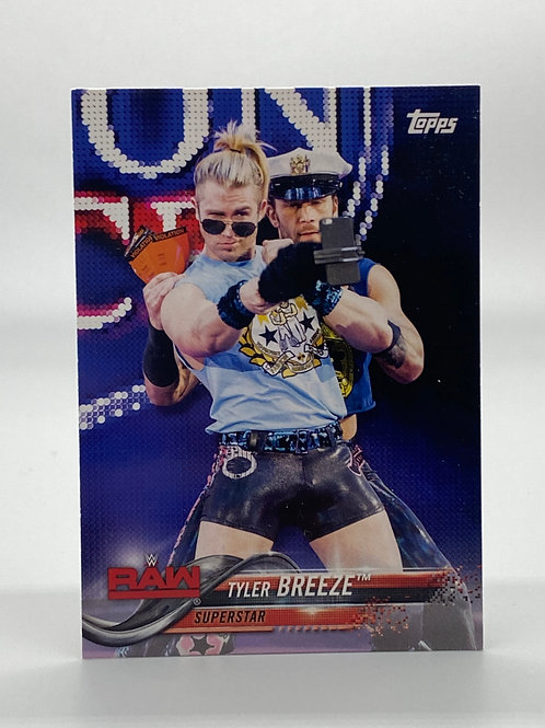 WWE Topps 2018 Then Now Forever Tyler Breeze #184