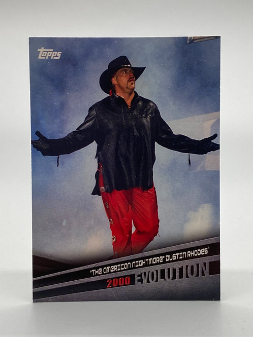"WWE Topps 2018 Evolution ""The American Nightmare"" Dustin Rhodes #E-19"