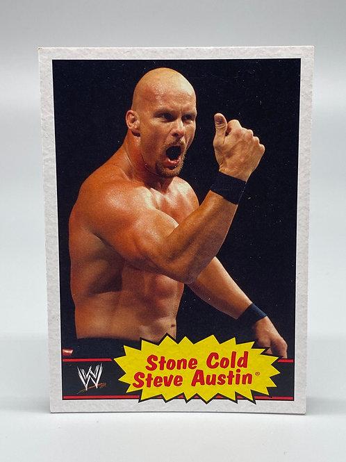 WWE Topps 2012 Heritage Stone Cold Steve Austin #54