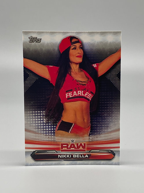 2019 Topps WWE Raw Nikki Bella #54