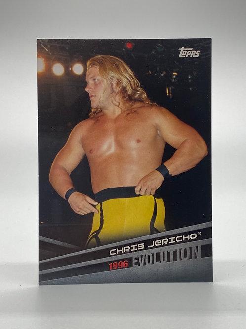 WWE Topps 2018 Evolution Chris Jericho #E-10