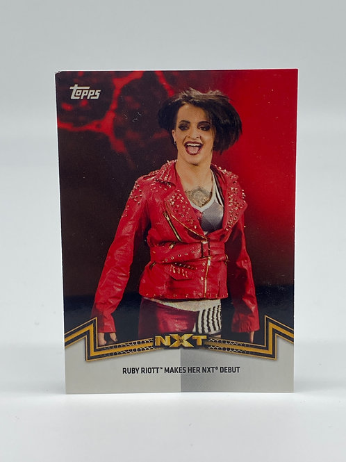 2018 Topps WWE Women's Division Ruby Riott #NXT-4