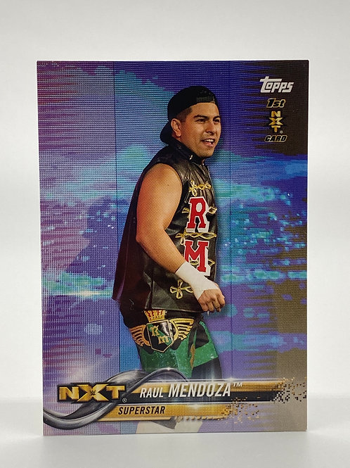 WWE Topps 2018 NXT Then Now Forever Raul Mendoza #160
