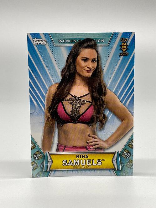 2019 Topps WWE Women's Division Nina Samuels #51