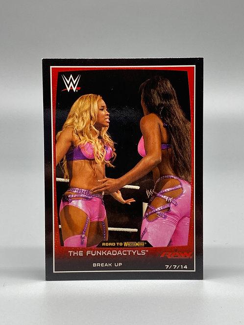 2015 Topps WWE Road to Wrestlemania The Funkadactyls Break Up #33