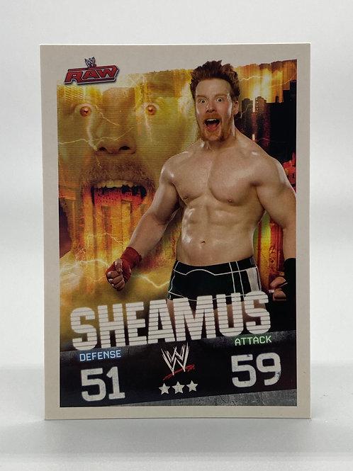 WWE Topps 2009 Slam Attax Evolution Sheamus NM Wrestling Trading Card