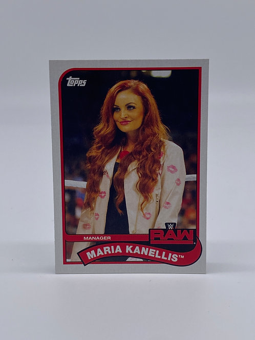 2018 Topps WWE Heritage Maria Kanellis #47