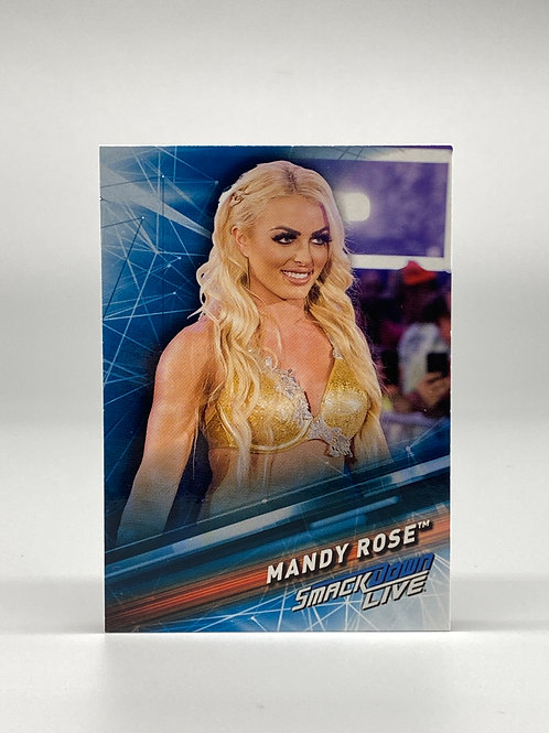 2019 Topps WWE Smackdown Live Mandy Rose #33