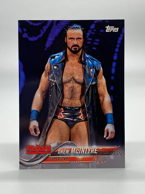 WWE Topps 2018 Then Now Forever Drew McIntyre #125 NM Wrestling Trading Card
