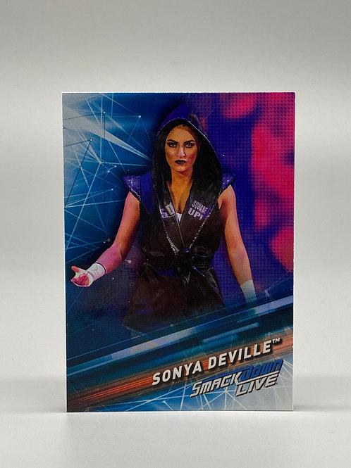 2019 Topps WWE Smackdown Live Sonya Deville #51
