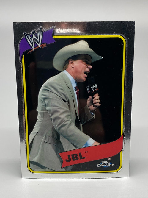 WWE Topps 2008 Chrome Heritage JBL #25