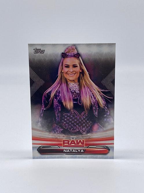 2019 Topps WWE Raw Natalya #52