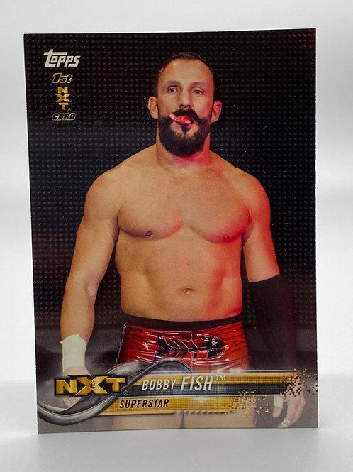 WWE Topps 2018 NXT Bobby Fish #15 NM Wresting Trading Card