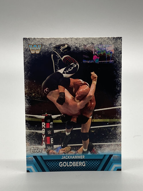 WWE Topps 2017 Then Now Forever Goldberg #F-5