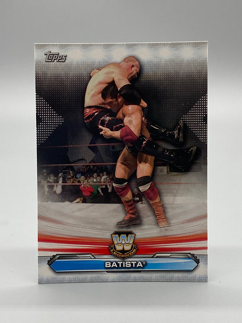 WWE Topps 2019 Legends of Raw Batista #LR-1 NM Wrestling Trading Card