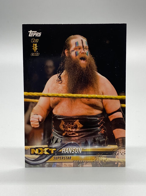 WWE Topps 2018 Then Now Forever Hanson #133